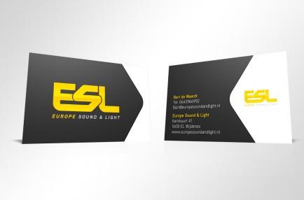 ESL visitekaartjes